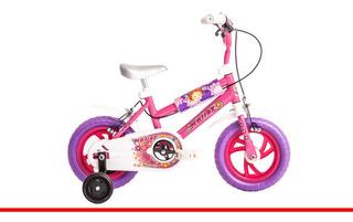 Bicicleta Rodado 12 Halley 19020 Nena Niña Ruedas Goma