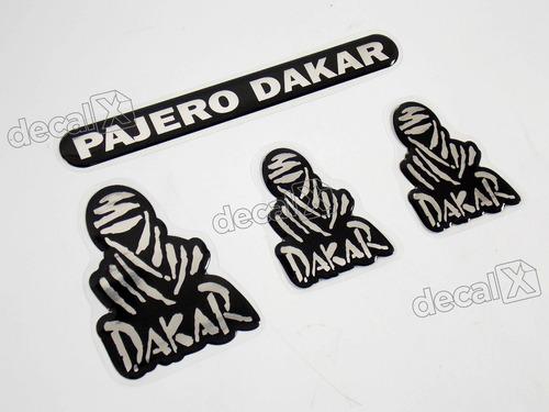 Kit Adesivos Pajero Dakar Resinado Pd001