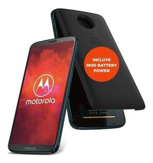 Motorola Z3 Play 64gb 4gb Ram + Mod Bateria