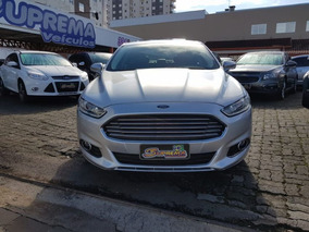 Ford Fusion Fwd 2.0 Titanium 2014 Prata Gasolina