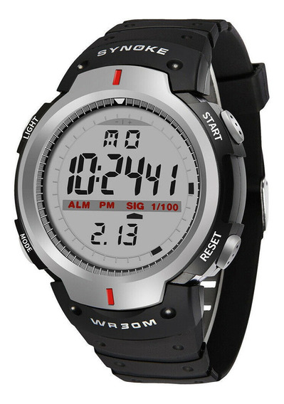 Relógio Masculino Synoke Esporte Militar Digital Cronômetro