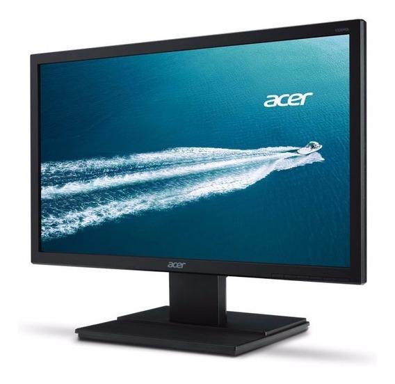 Monitor Led 19.5 Acer V206hql 1366 X 768 Vga Hdmi Vesa 12x