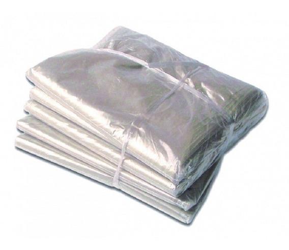 Saco Branco 51x110cm + Lacre 4,8x200mm - 100 Unidades