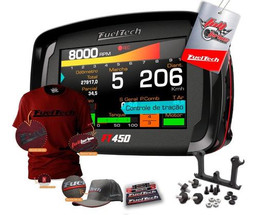 Fueltech Ft450 S/ Chic + Mega Brinde Camiseta Bordo Gel Bc