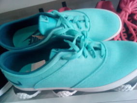 Zapatillas Azu Turquesa Nike Dama Casual Bellísimas