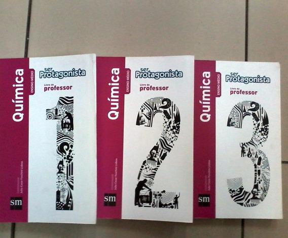 Quimica Ser Protagonista Vol 1 2 E 3