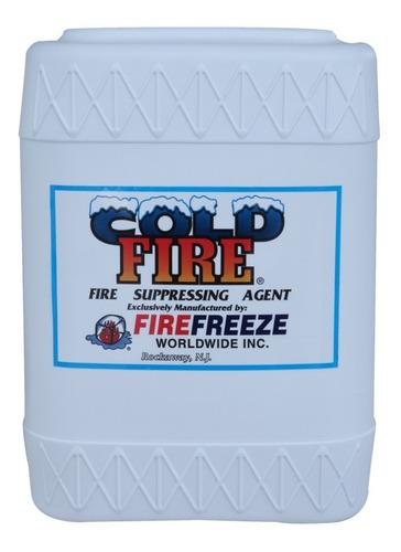 Imagen 1 de 2 de Cold Fire Concentrado Tineta De 20 Litros