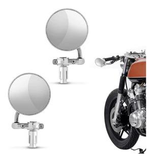 Par Retrovisores Modelo Cafe Racer Triumph Ducati Bonevile