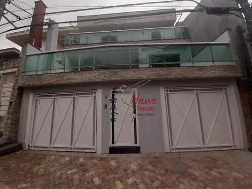 Imagem 1 de 30 de Sobrado Com 4 Dormitórios Para Alugar, 198 M² Por R$ 5.000,00/mês - Parque São Domingos - São Paulo/sp - So0891