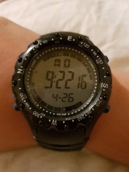Relógios Masculinos Esportivo Digital Resistente À Agua