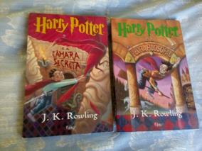 Livro Harry Potter Câmara Secreta E Pedra Filosofal