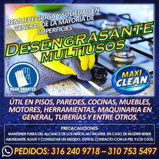 Venta De Desengrasante Multiusos Maxiclean En Yopal.