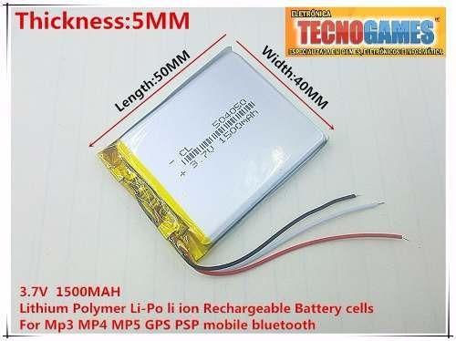 Bateria 3 Fios Gps Com Frete Por Carta Reg Incluso