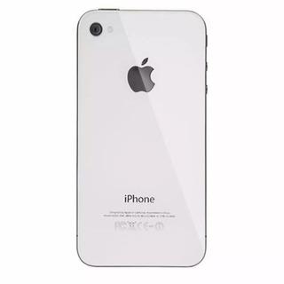 Tampa Traseira Vidro Fundo iPhone 4 4s Branco