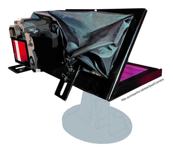 Teleprompter Baby Dslr Para Tablete, iPad, Celular