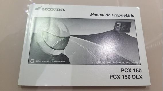 Manual Proprietário Honda Pcx 150 2017