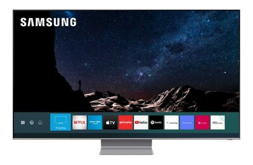 Smart Tv Samsung Qled 8k Q800t 75, Modo Ambiente 3.0, Borda