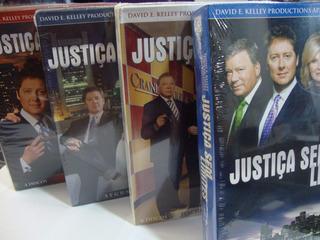 Box Justiça Sem Limites 2ª + 3ª + 4ª + 5ª Temporada Original