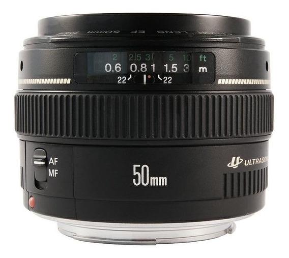 Lente Canon 50 Mm F/1.4 Original