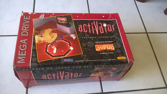 Controle Activator Para Mega Drive / Genesis Sega Tectoy