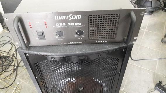 Amplificador Ciclotron Dbs2000