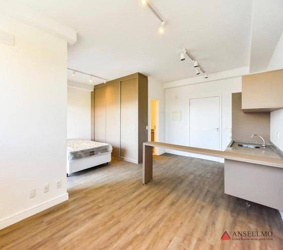 Loft Com 1 Dormitório Para Alugar, 40 M² Por R$ 1.650/mês - Jardim Do Mar - São Bernardo Do Campo/sp - Lf0005