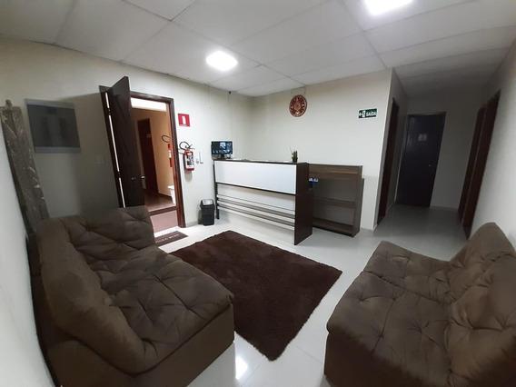 Sala Para Alugar, 14 M² Por R$ 650,00/mês - Vila Guilhermina - Praia Grande/sp - Sa0002
