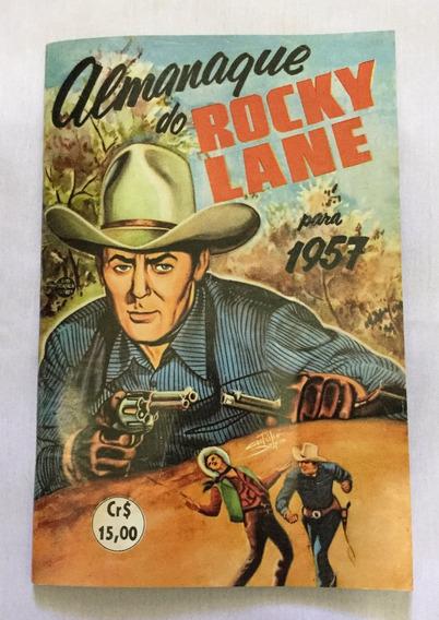 Almanaque Do Rocky Lane Para 1957 - 100 Páginas - Fac-símile