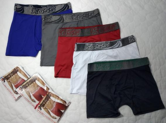 Kit Cuecas Box Boxer 8 Peças Original Atacado