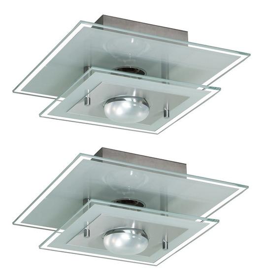 2 Lustres Para Sala Quarto Cozinha Banheiro + Lâmpada Grátis