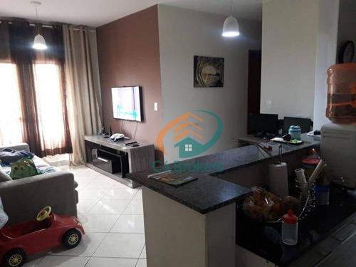 Apartamento À Venda, 68 M² Por R$ 295.000,00 - Vila Galvão - Guarulhos/sp - Ap2648