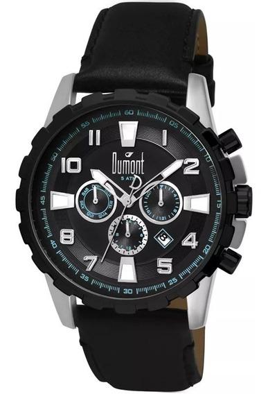 Relógio Dumont Masculino Dujp25cag/0p, C/ Garantia E Nf