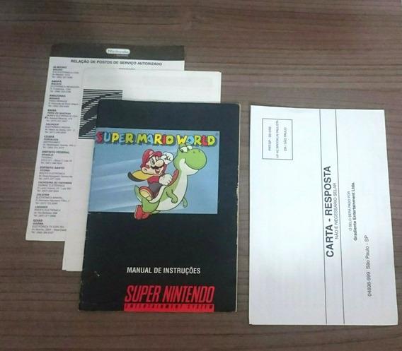 Manual Playtronic Nacional Super Nintendo