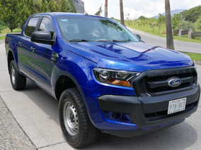 Ford Ranger 2017 Xl Doble Cabina Perfecto Estado 19,000 Kms