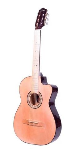 Imagen 1 de 3 de Guitarra clásica La Purepecha GCV café chocolate