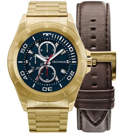 Relógio Technos Masculino Connect Srab/4p Dourado Smartwatch
