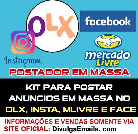 Programa Para Instagram Olx E Facebook - Divulgação