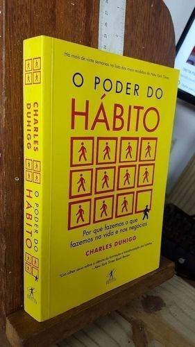 Livro O Poder Do Habito Charles Duhigg