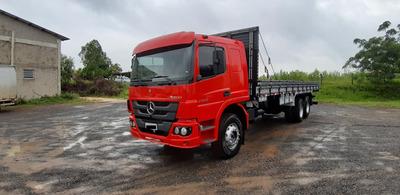 Mercedes Benz Atego 2426 Cabine Leito Teto Baixo Truck 6x2