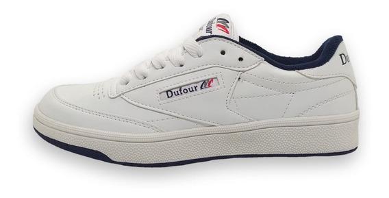 Zapatilla Dufour Classic Blanco T 36 37 38 39 40 41 Tenis