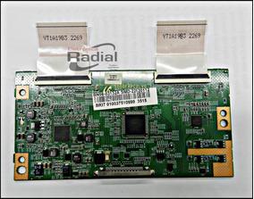 Placa Pci T-con T Con Tv Samsung Un32d5500 ( Bn98-03132a)