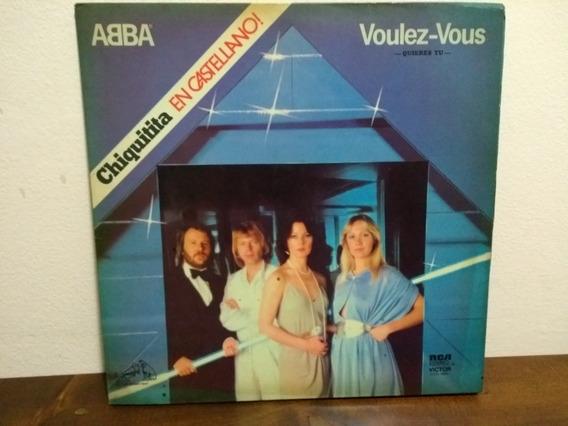 Abba . Voulez-vous . Disco Vinilo . 1979