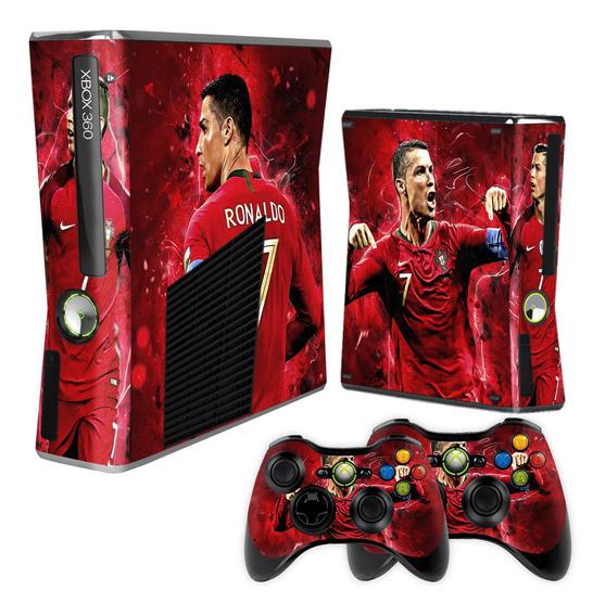 Skin Xbox 360 Slim Cristiano Ronaldo Cr7