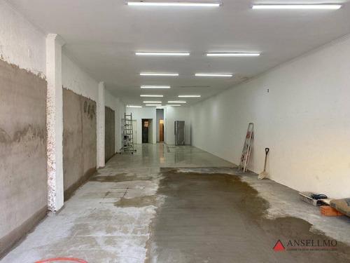 Imagem 1 de 5 de Salão Para Alugar, 150 M² Por R$ 6.000,00/mês - Centro - São Bernardo Do Campo/sp - Sl0463