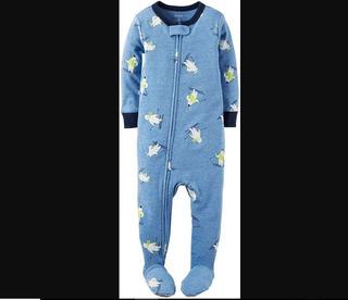 Pijama Carters Para Niño De 7 A 10 Meses Enteriza Talla 12m.