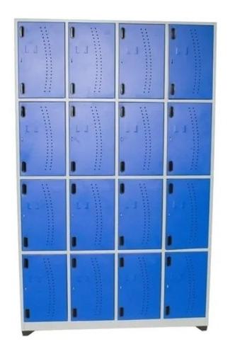 Locker Metalico De 16 Puestos
