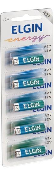 Bateria Alcalina A27 C/5 82196 Elgin