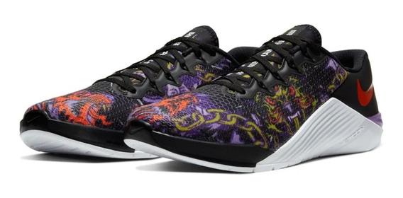 Tênis Nike Metcon 5 X Black Cactuspurple Crossfit