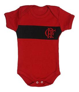 Body Bebê Time Futebol Flamengo Roupa Infantil