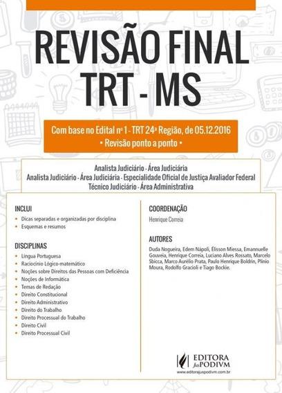 Revisao Final - Trt Ms - Juspodvim